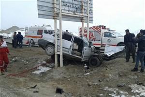 راننده 16 ساله و برادر 19 ساله در برخورد با تیر چراغ برق  جان باختند