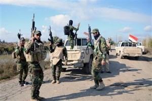 بمباران مواضع داعش در سوریه توسط حشد الشعبی