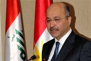 تقدیر رئیسجمهور عراق از مواضع ایران در جنگ علیه داعش