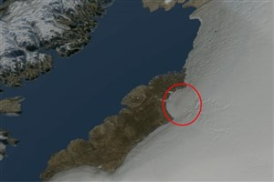 کشف گودال 31 کیلومتری در زیر یخچال های گریلند