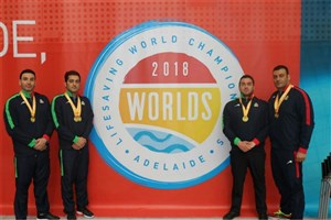 IAU Students Shine at 2018 Lifesaving World C'ships
