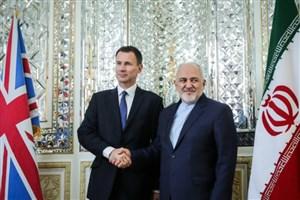 وزرای خارجه ایران و انگلیس دیدار و گفتگو کردند