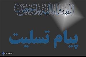 پیام تسلیت بسیج اساتید دانشگاه آزاد اسلامی در پی درگذشت دانشجویان واحد علوم تحقیقات