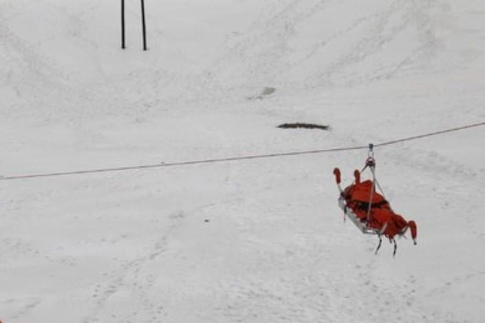 عملیات تجسس١٢ نفر کوهنورد مفقودی در ارتفاعات کوهستانی اسالم به خلخال