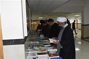 برپایی نمایشگاه کتاب در دانشگاه آزاد اسلامی بوکان