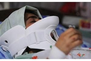واژگونی سرویس دانش آموزان در شیراز/4 دختر مصدوم شدند