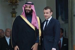 درخواست رئیس جمهور فرانسه از ولیعهد عربستان