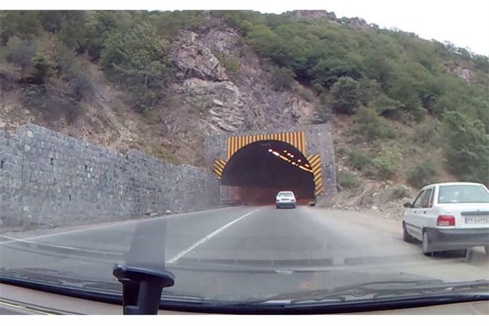مسدود شدن  شبانه جاده کرج - چالوس