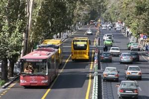 تردد خودروهای عادی در خطوط ویژه ممنوع است