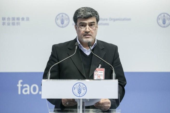 محمد حسین عمادی نماینده دائم ایران در فائو