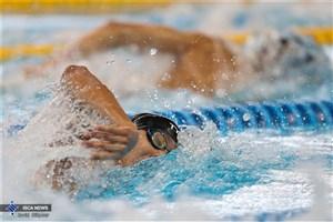 درخشش ورزشکار دانشگاه آزاد اسلامی در مسابقات شنای دانشجویان