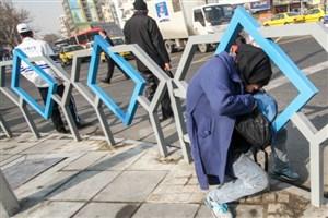 تجمع معلولان برای بازگشایی نردههای چهارراه ولیعصر