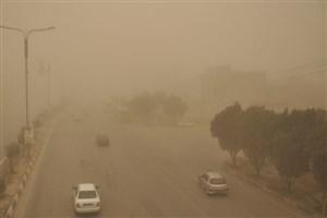 پدیده گرد و غبار در استان بوشهر/ در آزادراه قزوین-کرج-تهران ترافیک سنگین است