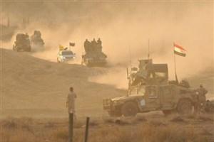 نابودی پناهگاه های زیر زمینی داعش در موصل