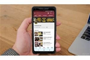 موفقیت چشمگیر یوتیوب در پلی استور
