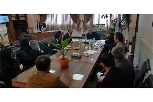ملاقات عمومی سرپرست دانشگاه آزاد مازندران با دانشگاهیان