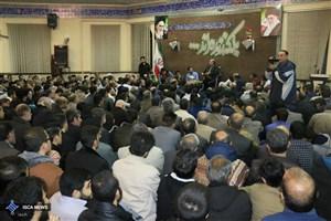 دهمین یادواره شهدای گمنام دانشگاه آزاد اسلامی  همدان برگزار شد