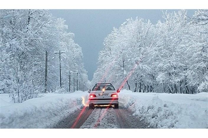 جاده های برفی