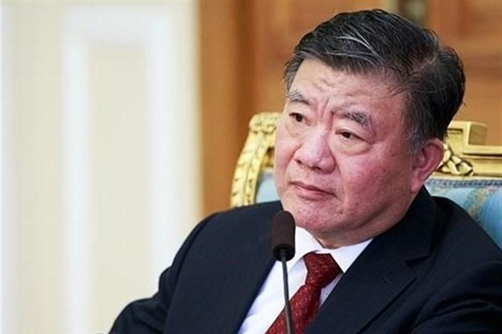 چن زو رئیس مجلس چین