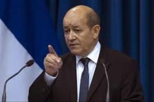 درخواست وزیر خارجه فرانسه از رئیس جمهور آمریکا