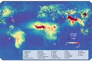 اولین نقشه انتشار آمونیاک منتشر شد