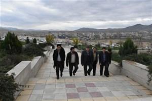 بازدید رئیس و معاون فرهنگی دانشگاه آزاد استان آذربایجان غربی از واحد بوکان