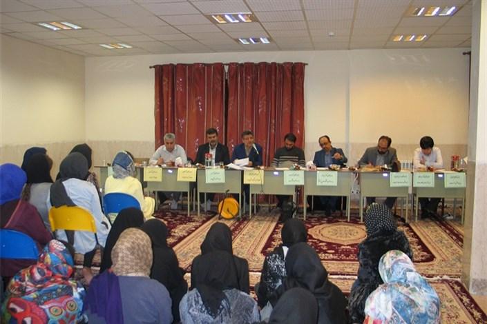 جلسه هیات رئیسه با دانشجویان