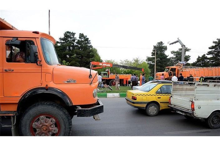 تردد کامیون ممنوع
