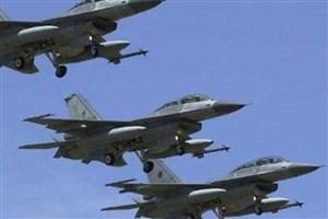 حمله هوایی عراق به مواضع داعش در سوریه