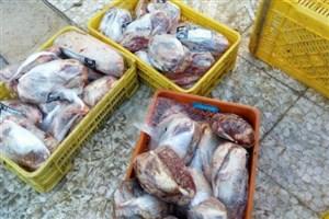 3 هزار کیلو گوشت منجمد فاسد در کرمانشاه کشف شد