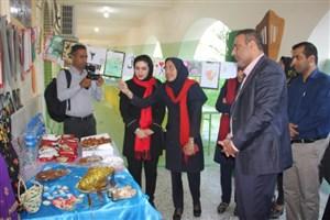افتتاح نمایشگاه «پژوهش در هنر و دستاوردهای هنری» در واحد بندرعباس