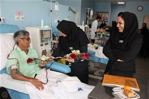 آموزش بیماران کلیوی و همراهان به مناسبت روز جهانی حمایت از بیماران کلیوی