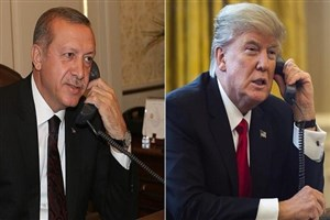 گفت و گو تلفنی رئیس جمهور آمریکا با اردوغان