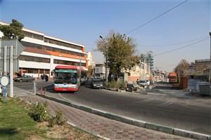 ایستگاه خطاتوبوس تندرو راه آهن- تجریش به خیابان معینی انتقال یافت