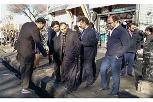 بررسی  وضعیت انهارمحله های جنوبی تهران برای پیش گیری از آبگرفتگی