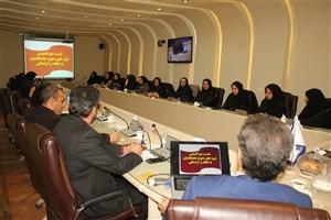 برگزاری نشست هم اندیشی با موضوع شیوه های دعوت دانشگاهیان به عفاف و آراستگی