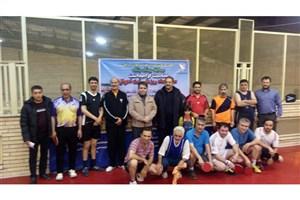 مقام اول مسابقات تنیس روی میز کارکنان دستگاه های اجرایی اردبیل به دانشگاه آزاد رسید