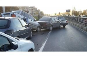 سُر خوردن سریالی خودروها در جاده نوشهرمشکوک است!