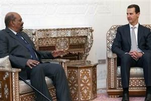 دیدار رئیس جمهور سودان از سوریه