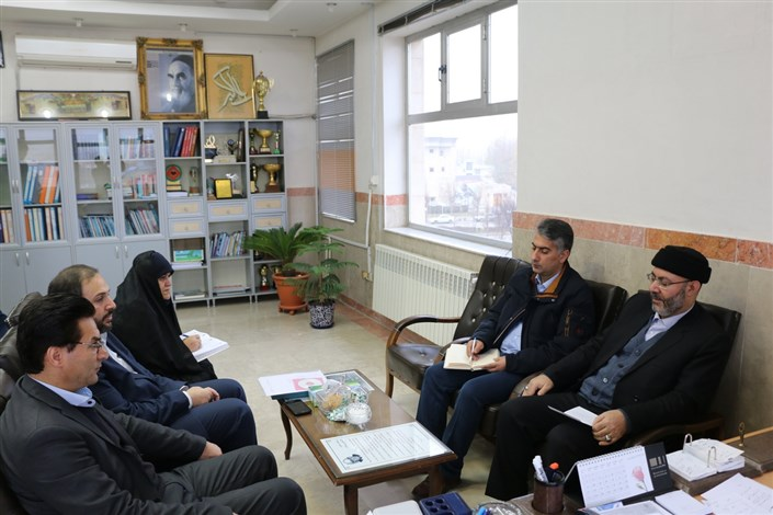دیدار با رئیس ستاد دیه استان اردبیل