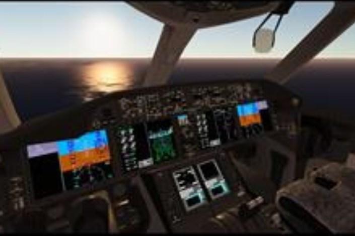 دستگاه شبیهساز پرواز سسنا