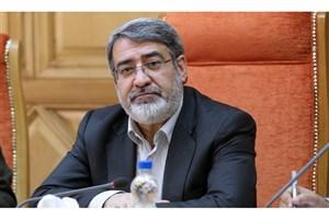 پیام تسلیت وزیر کشور در پی سانحه منجر به شهادت تعدادی از دریادلان ارتش