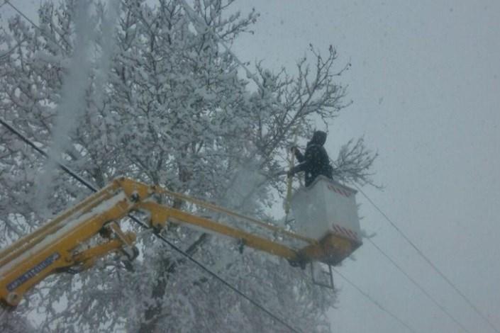 برق و برف