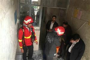 فوت یک دانش آموز درآتش سوزی مدرسه ابتدایی  زاهدان+اسامی  مصدومان