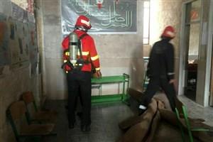 مرگ سه دانشآموز در آتشسوزی مدرسه/سسیستم گرمایشی باز هم حادثه آفرید