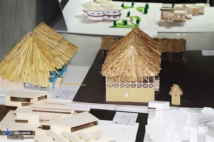 نمایشگاه معماری دانشجویان دانشگاه آزاد رشت