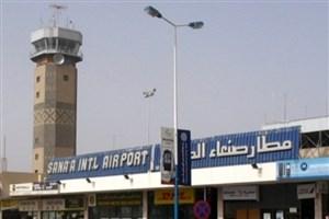 حمله هوایی عربستان به فرودگاه صنعا