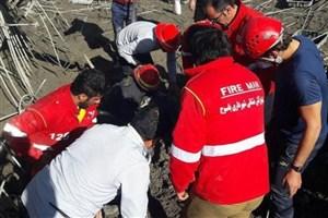 بازداشت ۴ نفر در رابطه با ریزش ساختمان در یاسوج و فوت کارگر