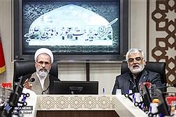 نشست مشترک رئیس دانشگاه آزاد اسلامی با مدیر حوزههای علمیه کشور