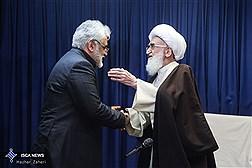 دیدار رییس دانشگاه آزاد اسلامی با مراجع تقلید